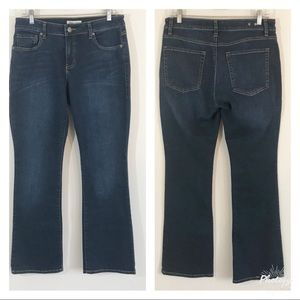 CAbi • Style 120 Curvy Slim Bootcut Jeans Size 8